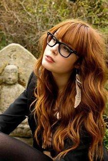 bardzo lubię taką fryzurę, ...