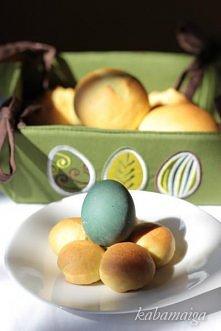 Wielkanocne bułeczki drożdżowe