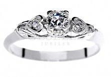 WZ 004 Retro pierścionek z ...