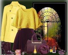 Żółty + bordo = <3