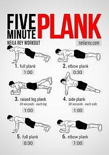Plank-deska jedno z wielu ćwiczeń na brzuch. Jak dla mnie rewelacyjne ale trz...