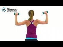 Tank Top Arms Workout - Shoulders, Arms & Upper Back Workout