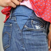 jak poszerzyć za małe spodnie w pasie