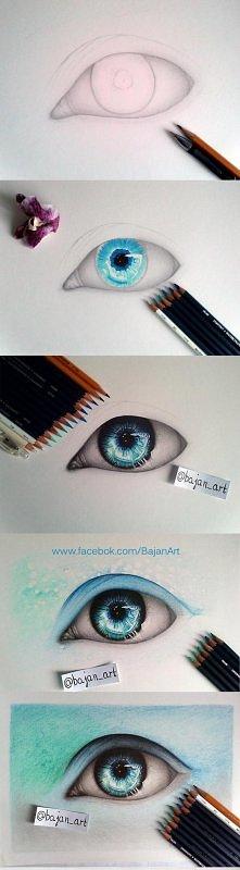 Oko magiczne . Piękne dzieł...