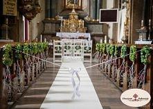 Dekoracje kościołów na ślub