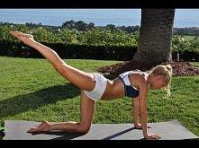 Bardzo łatwe i efektowne ćwiczenia na pośladki !