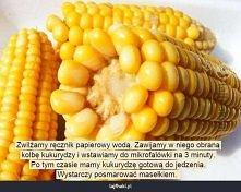 Jak zrobić kukurydzę w mikrofali?