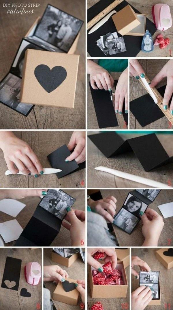 pudełko z wspólnymi zdjęciami jako prezent ;)