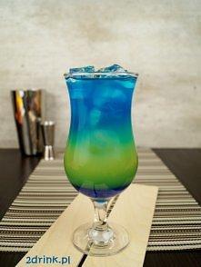 Coco Extazy – przepis na drink Składniki:  30 ml syropu Blue Curacao 40 ml likieru Blue Curacao 40 ml wódki 40 ml Malibu ok. 100-150  ml soku ananasowego kostki lodu Przygotowan...
