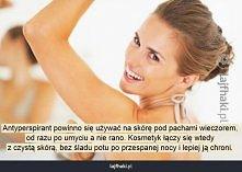 Jak poprawnie używać antyperspirantu?