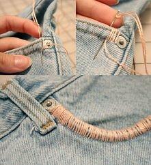 jeans kieszenie
