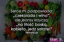 Kto wybiera sałatę ?? ;)