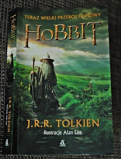 """""""Hobbit czyli tam i z powrotem"""" ♥♥♥ Czytałam ^^"""
