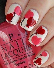 Jakie paznokcie na Walentyn...