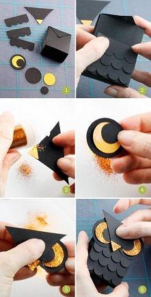 DIY- sówka z papieru.