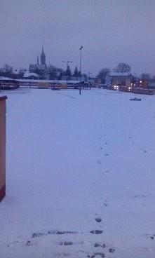 u kogo pada śnieg ?