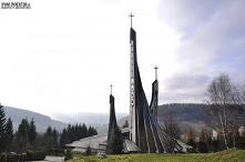 Architektura sakralna - Kościół w Ustrzykach Dolnych. Zajrzyj na bloga i dowi...