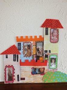 zamek z kopert z okienkiem