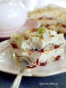 Ciasto Malakoff -bez pieczenia