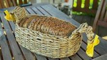 koszyczek z wikliny papierowej na chlebek-więcej zdjęć na stronie-zapraszam