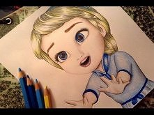 Frozen Drawing Baby Elsa