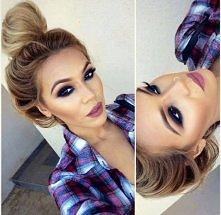 świetny makijaż :)