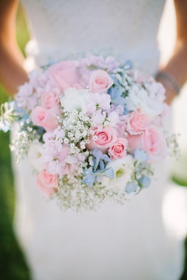 ślub W Kolorach Pastelowych Fot Jessica Crews Photography Wię Na