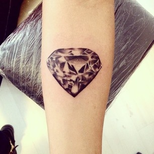 Tatuaż Diament Jak Wam Się Podoba Na Tatuaże Zszywkapl