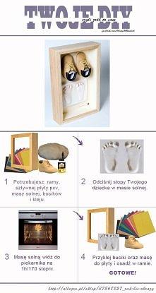 Pomysł na DIY! pierwsze buc...