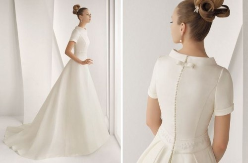 Suknia ślubna AIXA z kolekcji Rosa Clará 2012