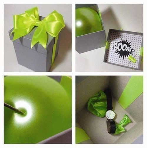 pomysl na prezent (exploding box) :p