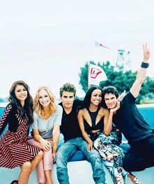 Ian, Kat, Paul, Candice i Nina