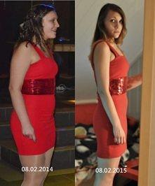 rok 2014 był dla mnie dobry rokiem, -15 kg :) talia -12cm, boczki -14cm, pupa...