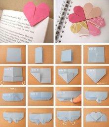 Origami - śliczna zakładka do książki!