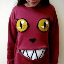 kreatywny sposób na bluzę ;)