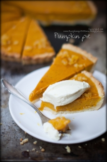 Pumpkin pie z cytrynowym kr...