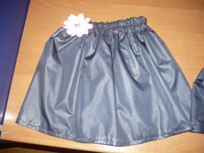 A taką spódniczkę uszyłam dziś córeczce :D