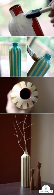 Pomysł na elegancki wazon.