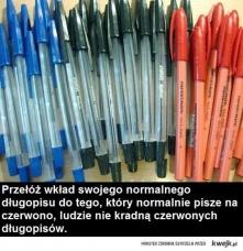 pomysł na długopis