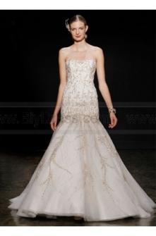 Lazaro Wedding Dresses Style LZ3409