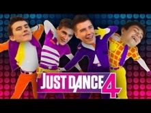 TAŃCE SKUBAŃCE - Just Dance 4 - Ekipa Terefere - kolejny filmik chłopaków. Ubaw po pachy! Zobaczcie jeśli nie widzieliście :D