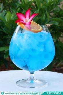 Blue Ocean: Składniki: * Wódka (40 ml) * Cura Cao (20 ml) * Sok ananasowy (40 ml) * Sok grejfrutowy (40 ml) * Lód (kostki). Przygotowanie: Najprościej – całość składników na dri...