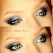 50 Shades of Grey Makijaż  inspirowany w kolaboracji ze Zmalowaną już na kanale! YT- kitulecmakeup