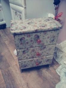 Odnowiona stara szafka ;)