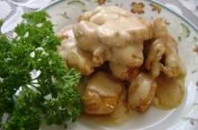 Kurczak w sosie serowym SKŁ...