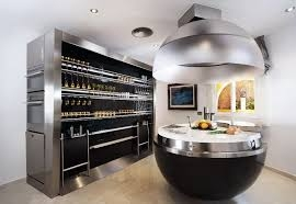 Kuchnia futurystyczna i bardzo nowoczesna. - calvado