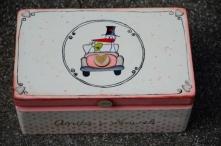 Bociek - pudełko na kartki ...
