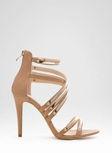 DeeZee - Sandały Disco Fever Nude Heeled Sandals