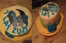 a tu torcik który zrobiłam dla mojej córci, idealny nie jest ale ona była zachwycona :)
