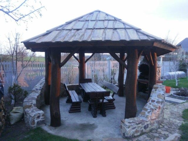 Cena Altany Zawiera Konstrukcję Drewnianą Pokrycie Dachu